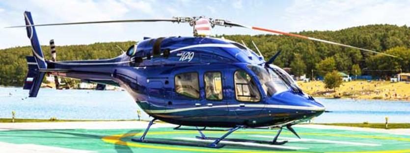 Аренда вертолета Bell 407GX