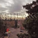 Вид из окна квартиры в Ялте на Кирова