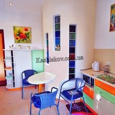 Кухня в стиле модерн - аренда квартир в Ялте