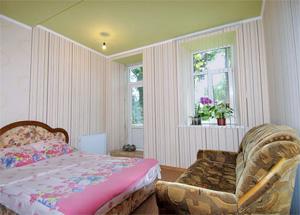 Спальня квартиры для проживания