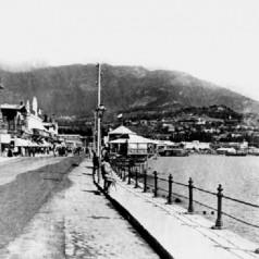 Старое фото Набережной Ялты