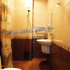 Ванная - Аренда 1 комнатных квартир в Ялте