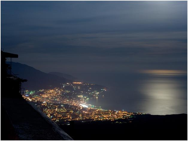 Ночная Ялта
