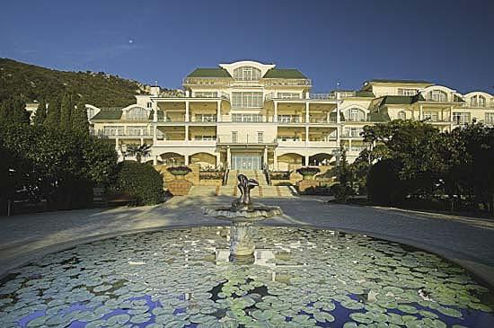 Расположение отеля Пальмира Палас