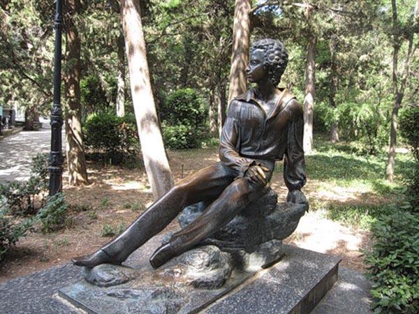 Пушкино - памятник Пушкину