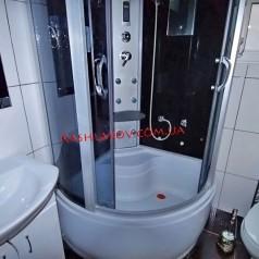 Душевая кабинка - Снять квартиру класса люкс в Ялте