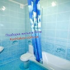 Ванная комната в квартире в Ялте