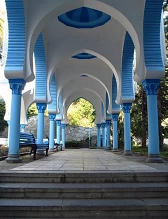 Санаторий Дюльбер - арки