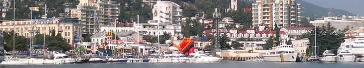 Яхты в Крыму